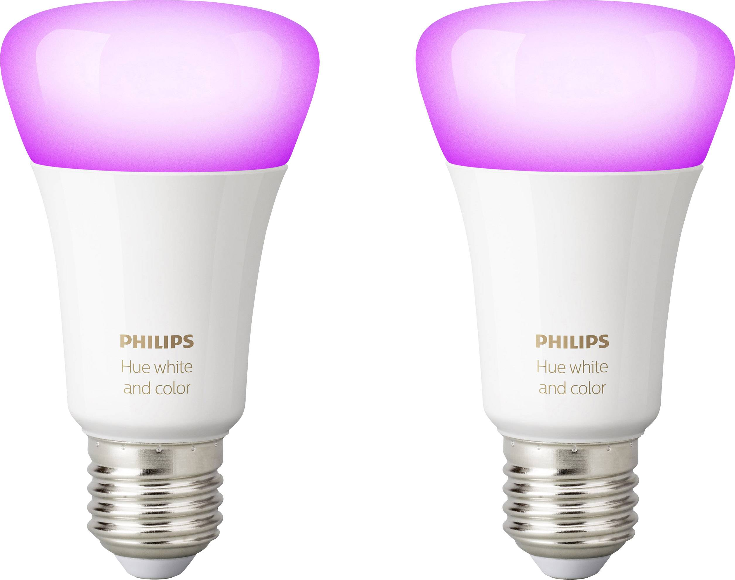 LED žárovka (sada 2 ks) Philips Lighting Hue white and color ambiance, E27, 10 W, RGBW