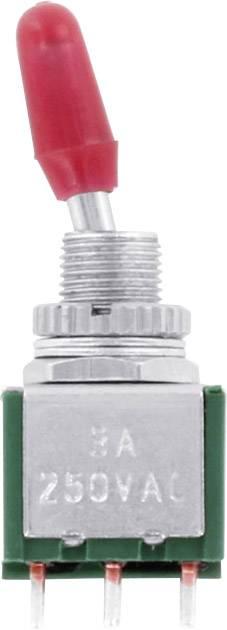Páčkový spínač TRU COMPONENTS TC-MK225, 125 V/AC, 2x zap/zap, 1 ks