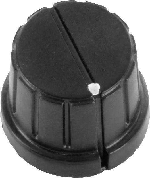 Otočný knoflík s označením TRU COMPONENTS TC-DK20, (Ø) 20 mm, černá, 1 ks