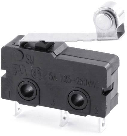 Mikrospínač - páka s valčekom TRU COMPONENTS TC-MS05, 5 A