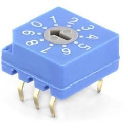 Kódovací spínač TRU COMPONENTS TC-CDS10, BCD, 0-9, 1 ks