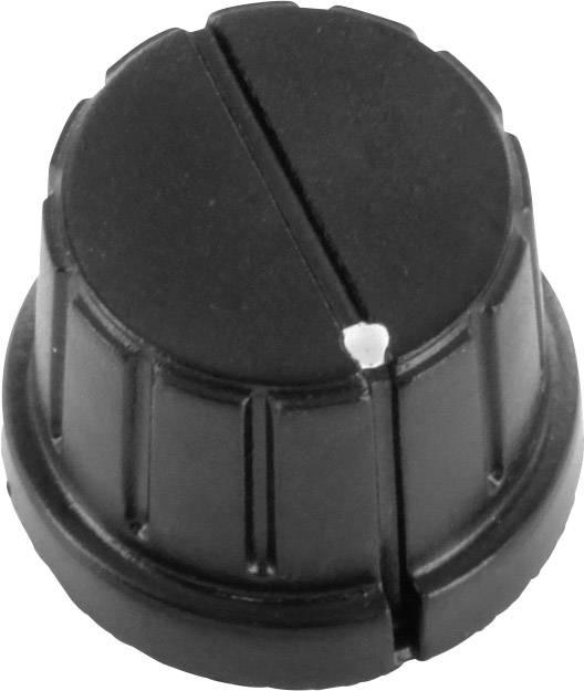 Otočný knoflík s označením TRU COMPONENTS TC-DK24, (Ø) 24 mm, černá, 1 ks