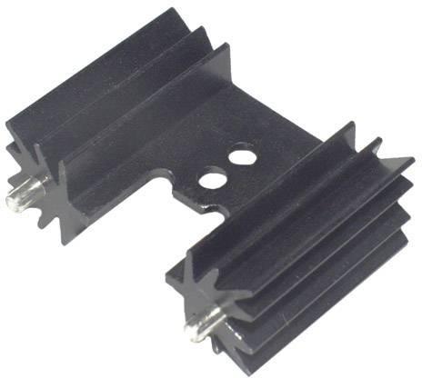 Lisovaný chladič TRU COMPONENTS TC-KK7477W, 14 K/W, (d x š x v) 25.4 x 35 x 12.7 mm