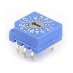 Kódovací přepínač TRU COMPONENTS TC-CDS16, hexadecimální, 0-9/A-F, 1 ks