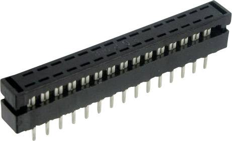 Kolíková lišta TRU COMPONENTS D11a-40 BT1-G, Počet riadkov 2, pólů 40, 1 ks