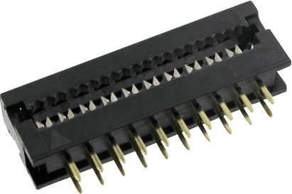 Kolíková lišta TRU COMPONENTS D11-34 BTA1-G, Počet riadkov 2, pólů 34, 1 ks