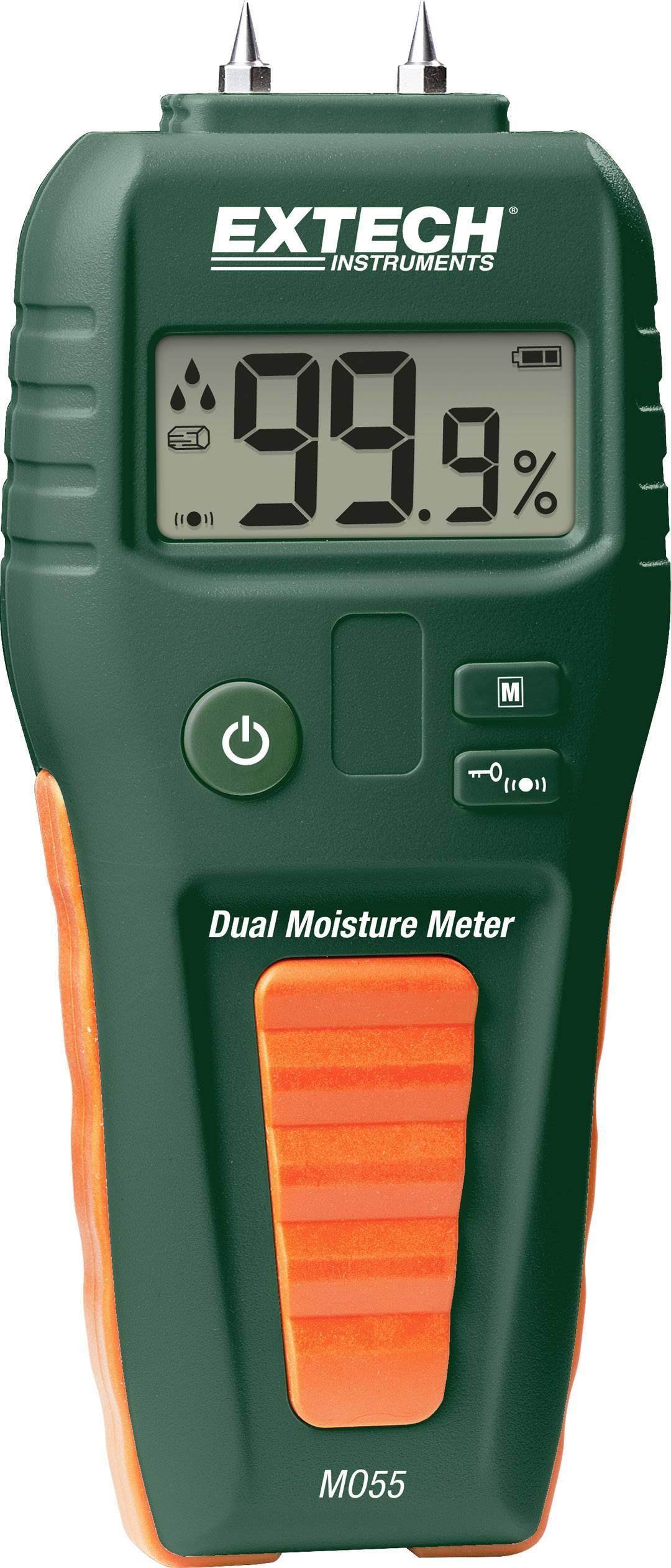 Měřič vlhkosti materiálů Extech MO55