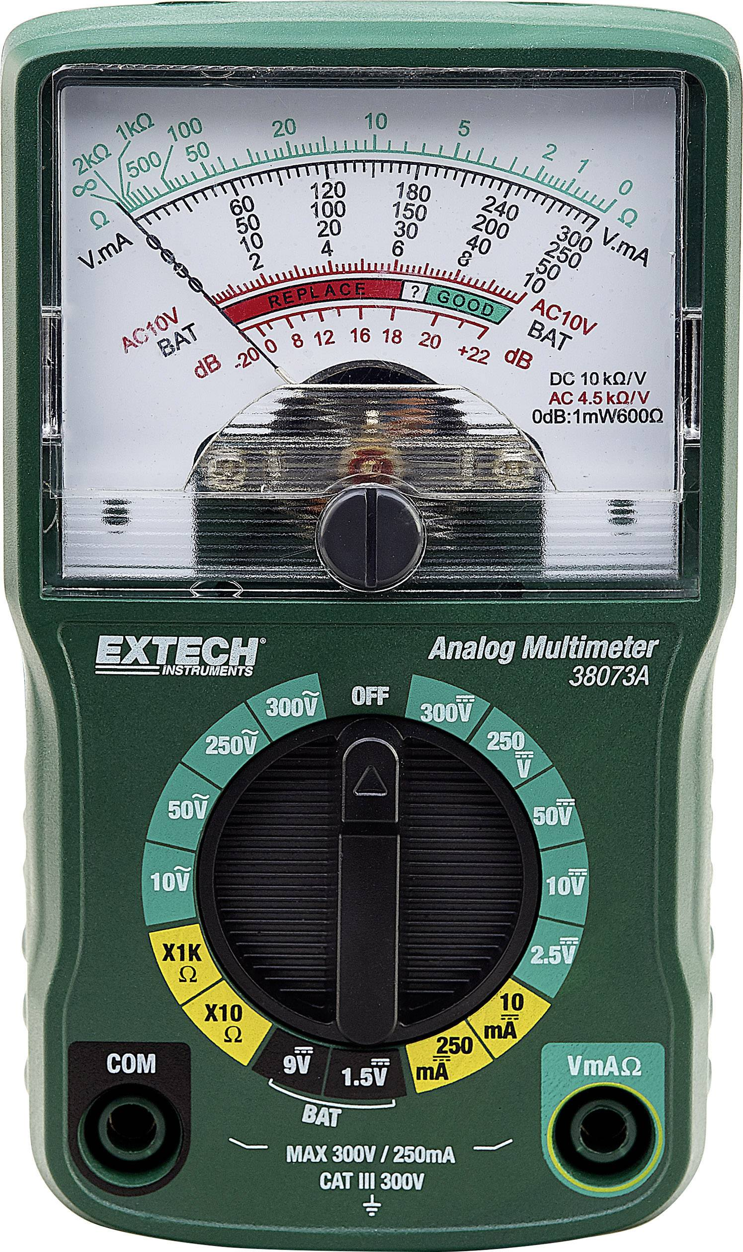Analógový ručný multimeter Extech 38073A