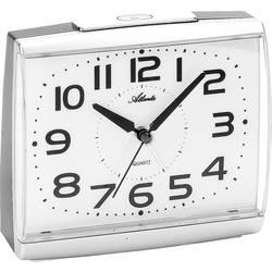 Quartz budík Atlanta Uhren 1919/19, stříbrná