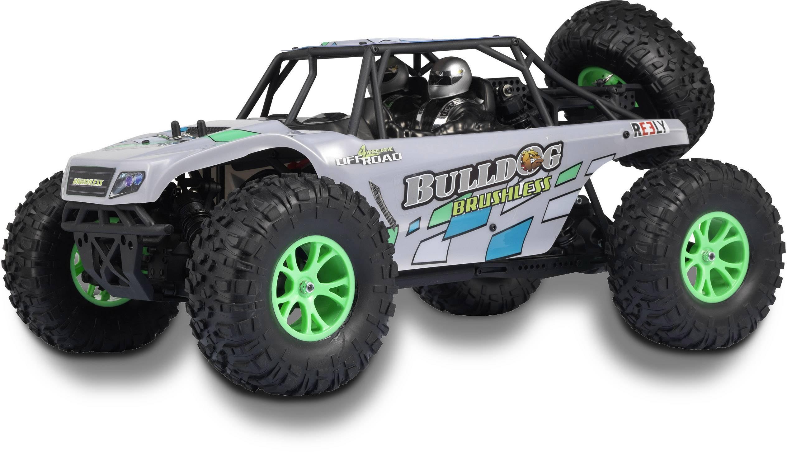RC model auta Buggy Reely Bulldog 2S, střídavý (Brushless), 1:10, 4WD (4x4), RtR, 60 km/h