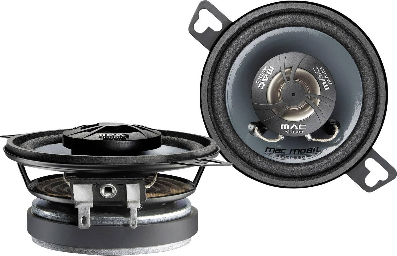 2cestný koaxiálny zabudovateľný reproduktor Mac Audio Mac Mobil Street 87.2, 140 W