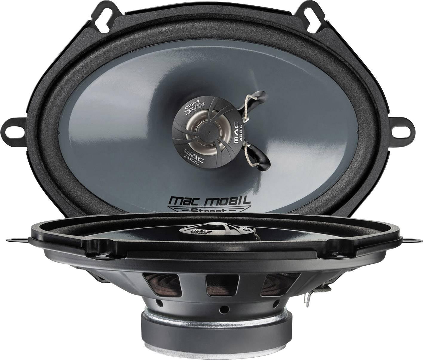 2cestný koaxiálny zabudovateľný reproduktor Mac Audio Mac Mobil Street 57.2, 200 W