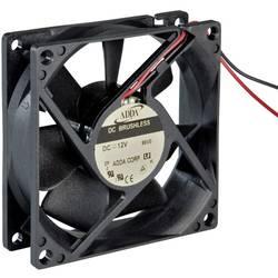Axiální ventilátor ADDA AD0812DB-D96(T) 111111198, 12 V/DC, 30.2 dB, (d x š x v) 80 x 80 x 15 mm