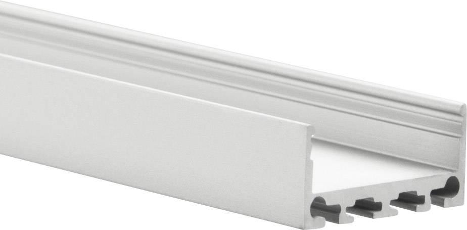 Profil hliník TRU COMPONENTS TRU-PN4/C12/E45/OP/200, (d x š x v) 2000 x 27 x 39 mm