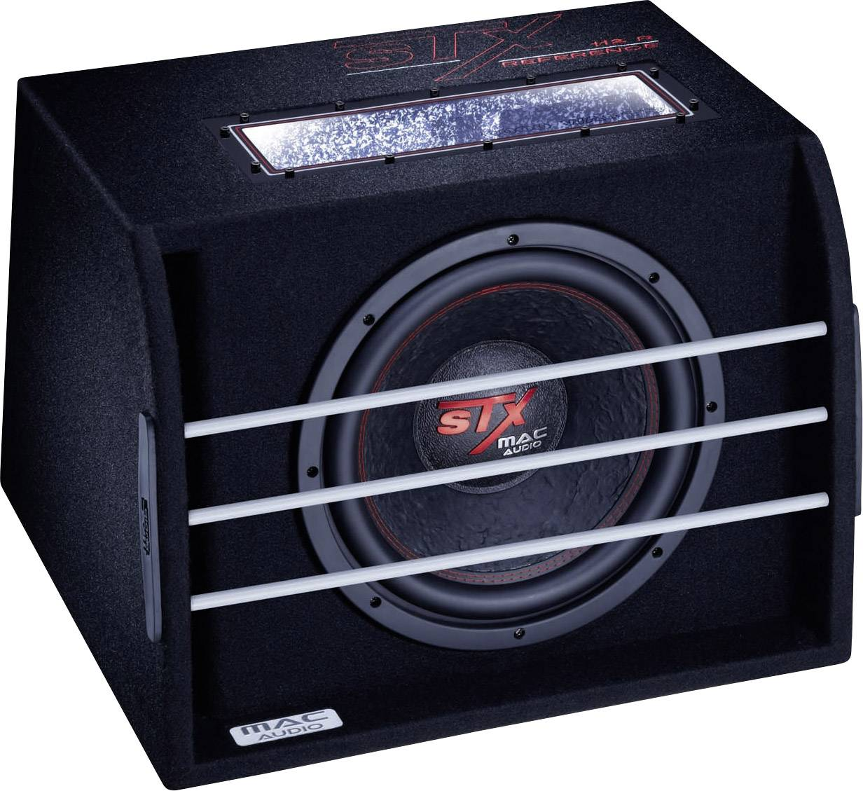 Pasívny subwoofer do auta Mac Audio STX 112 R Reference, 2000 W