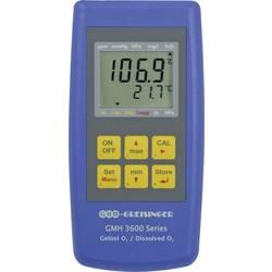 Oxymetr Greisinger GMH 3611-GL, tlak, koncentrace O2, saturace O2 výrobce s certifikátem