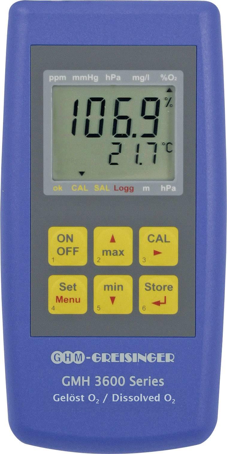 Měřič koncentrace kyslíku rozpuštěného v kapalinách GMH3611-L04, vč. senzoru Greisinger