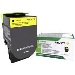 Lexmark vratný toner CS317 CS417 CS517 CX317 CX417 CX517 71B20Y0 originál žlutá 2300 Seiten