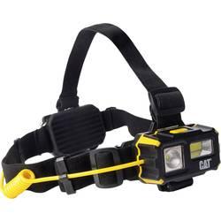 Pracovní LED čelovka CAT 330068, na baterii, 130 g, černá