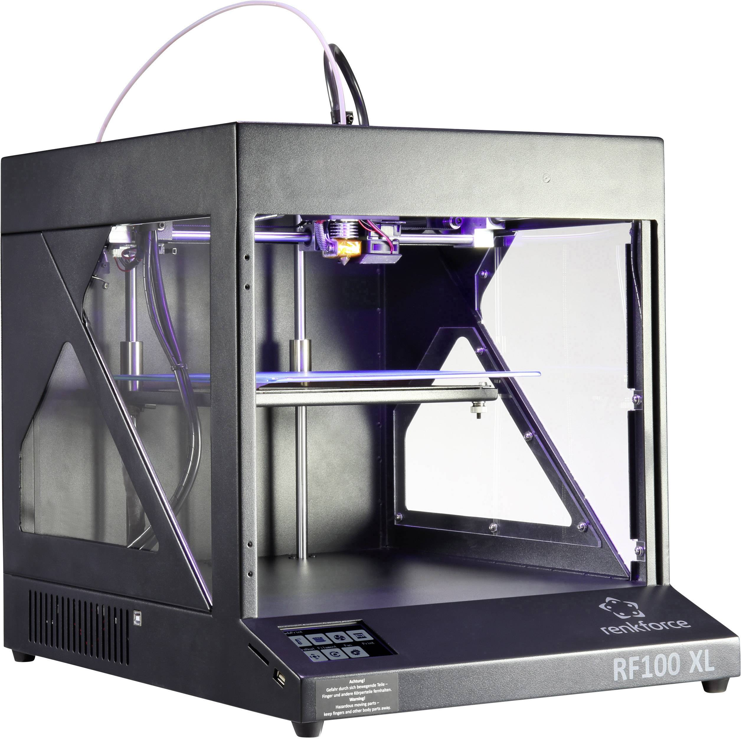 3D tiskárna Renkforce RF100 XL včetně náplně
