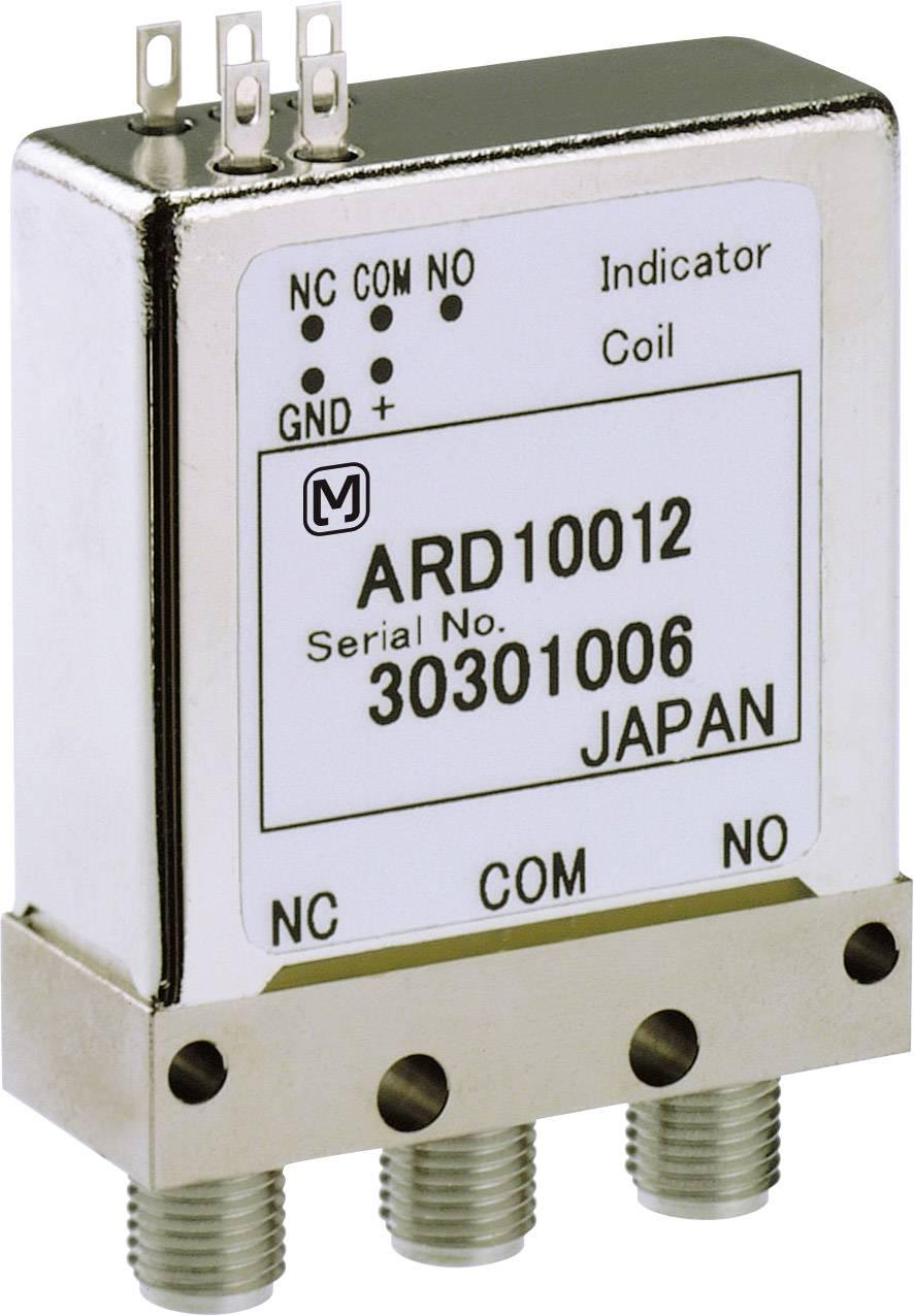 Vysokofrekvenční relé Panasonic ARD10012J, 12 V/DC, 1 přepínací kontakt, 1 ks