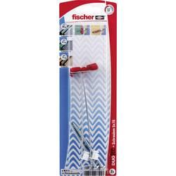 Sklopná hmoždinka Fischer DUOTEC 10 S PH 539028, Vonkajšia dĺžka 47 mm, Vonkajší Ø 10 mm, 2 ks