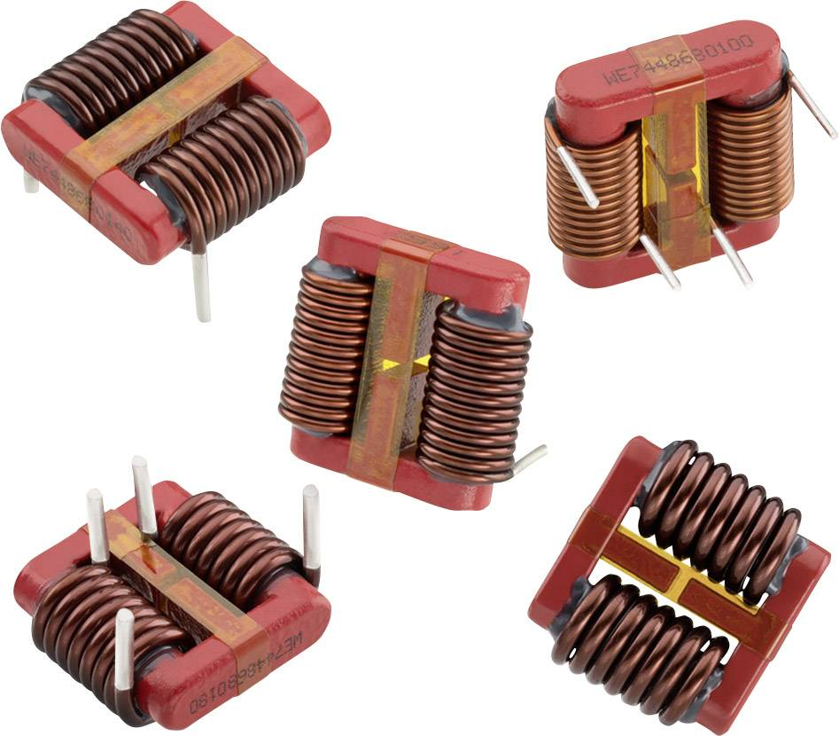 Proudově kompenzovaná tlumivka Würth Elektronik WE-LPCC 7448680100, 450 µH, 10 A, 1 ks