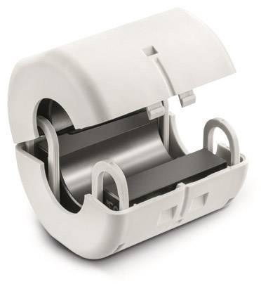 Dělený feritový filtr Würth Elektronik 74271151, s uzamykací technologií, 417 Ohm, Ø kabelu (max.) 15 mm, 1 ks