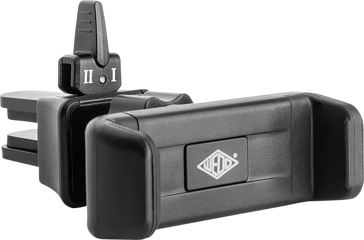 Uni držiak na smartfón , do mriežky autoventilátora HP Autozubehör Clip It 6005101, čierna