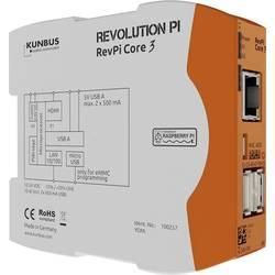 Riadiaci modul Kunbus RevPi Core3+ 8GB PR100299, 12 V, 24 V