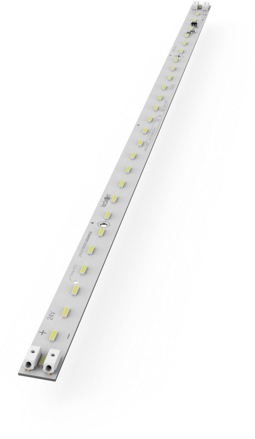 LED lišta ledxon LRAML-SW950-24V-28S103-20-IC 9009371, 24 V, studená bílá, 30 cm