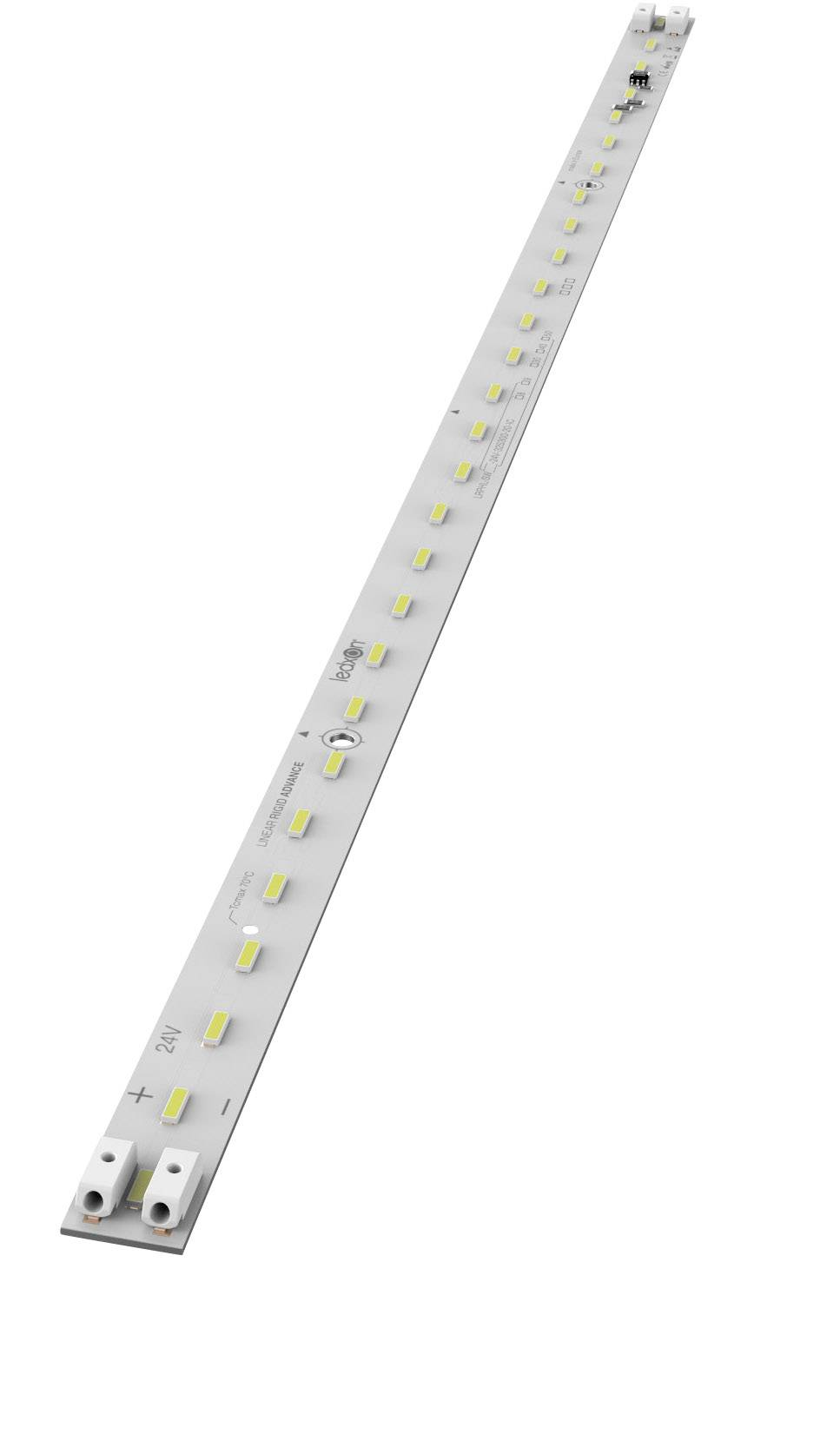 LED lišta ledxon LRAML-SW940-24V-28S103-20-IC 9009370, 24 V, neutrálně bílá, 30 cm