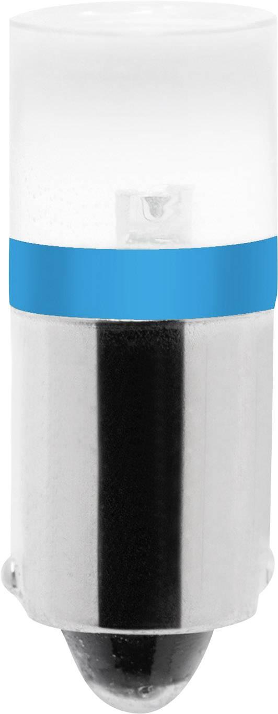 LED žárovka Barthelme BA9s, modrá, 230 V/DC, 230 V/AC,