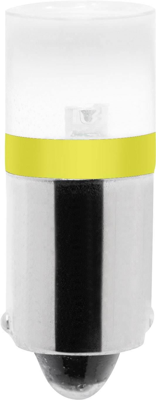 LED žárovka Barthelme BA9s, jantarová, 12 V/DC, 12 V/AC,