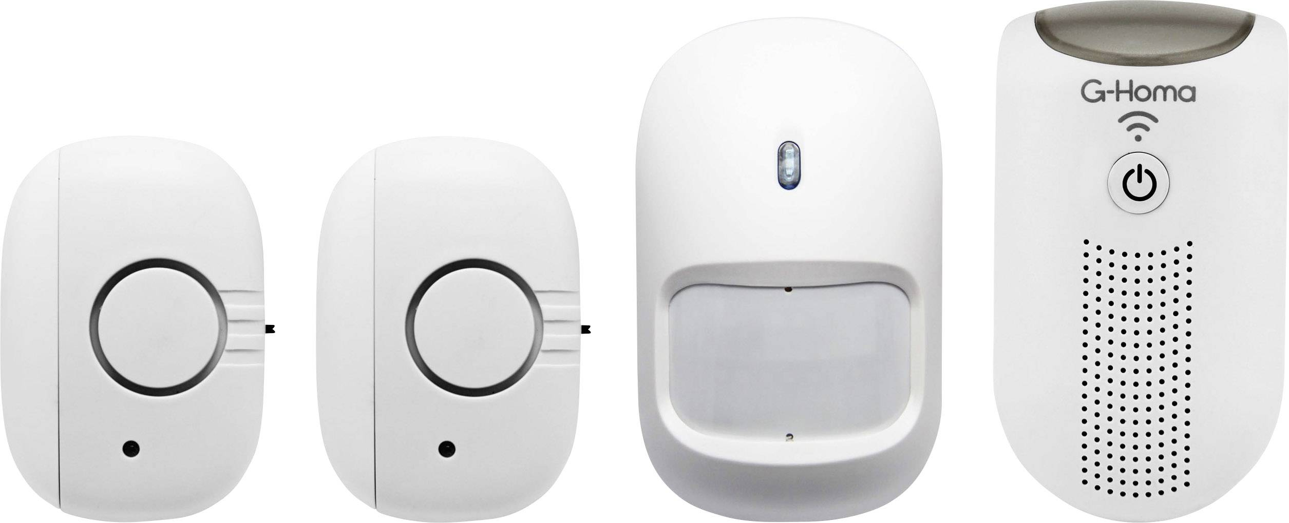 Chytrý domovní mini-alarm G-Homa EMW302WF-HS, s Wi-Fi, 80 dB