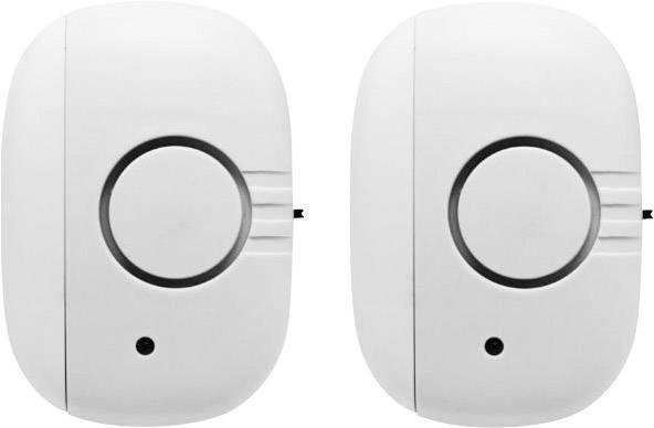 Dverový/okenný alarm s Wi-Fi, G-Homa RF302DAx2, 80 dB, sada 2 ks