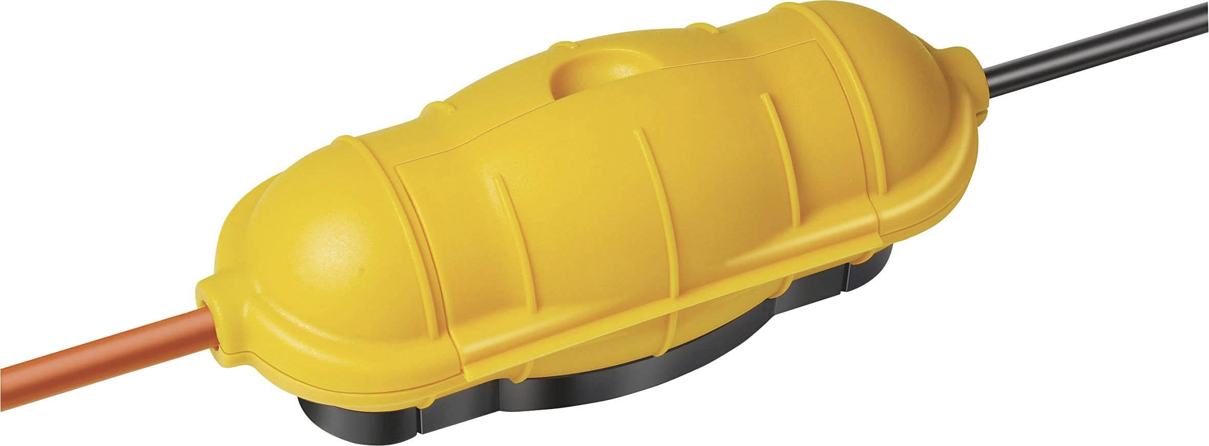 Kryt zásuvky Brennenstuhl Safe Box 1160440, žlutá
