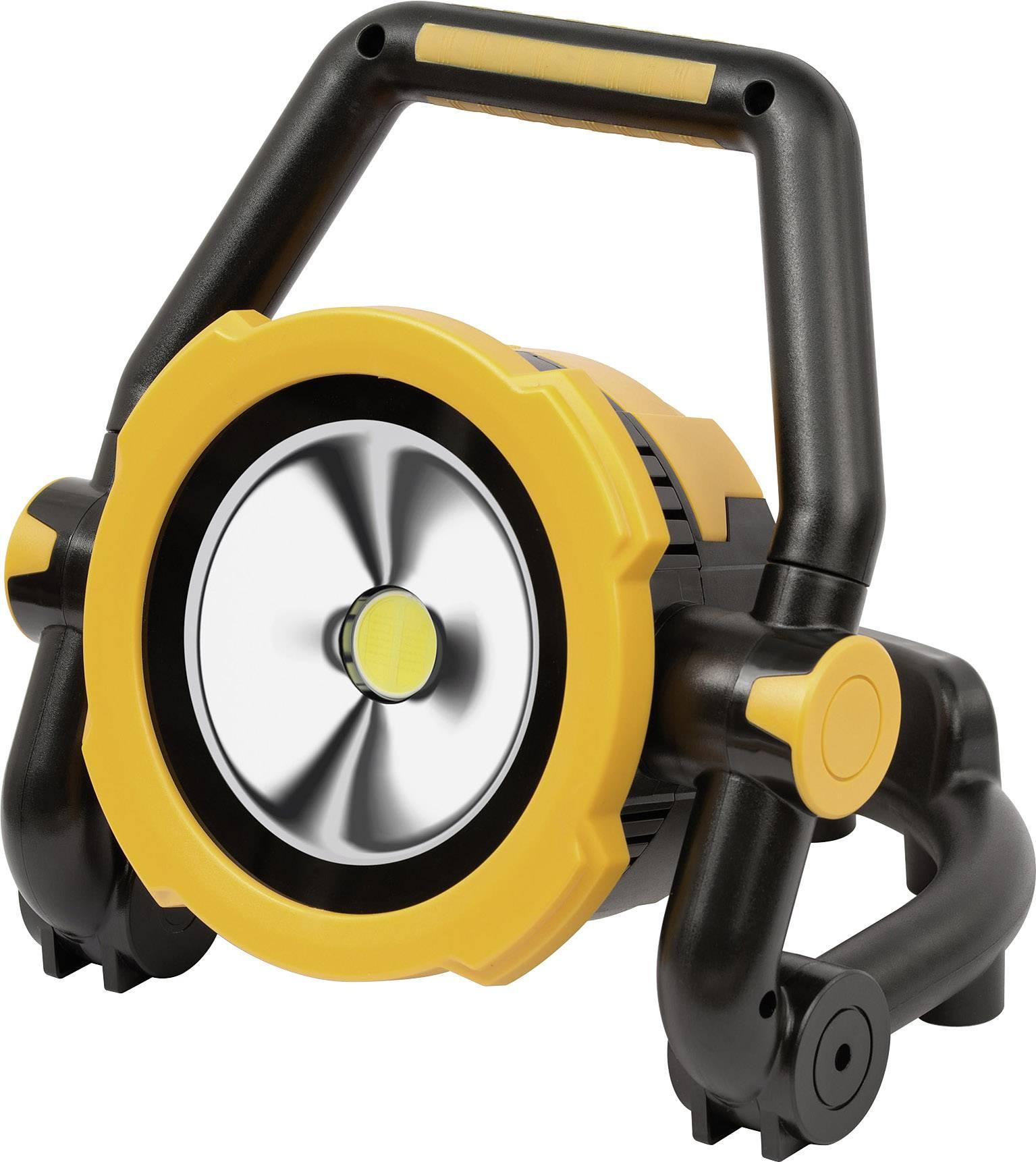 Akumulátorové LED pracovní osvětlení a powerbanka 2 v 1 Brennenstuhl 1171420, 20 W, USB