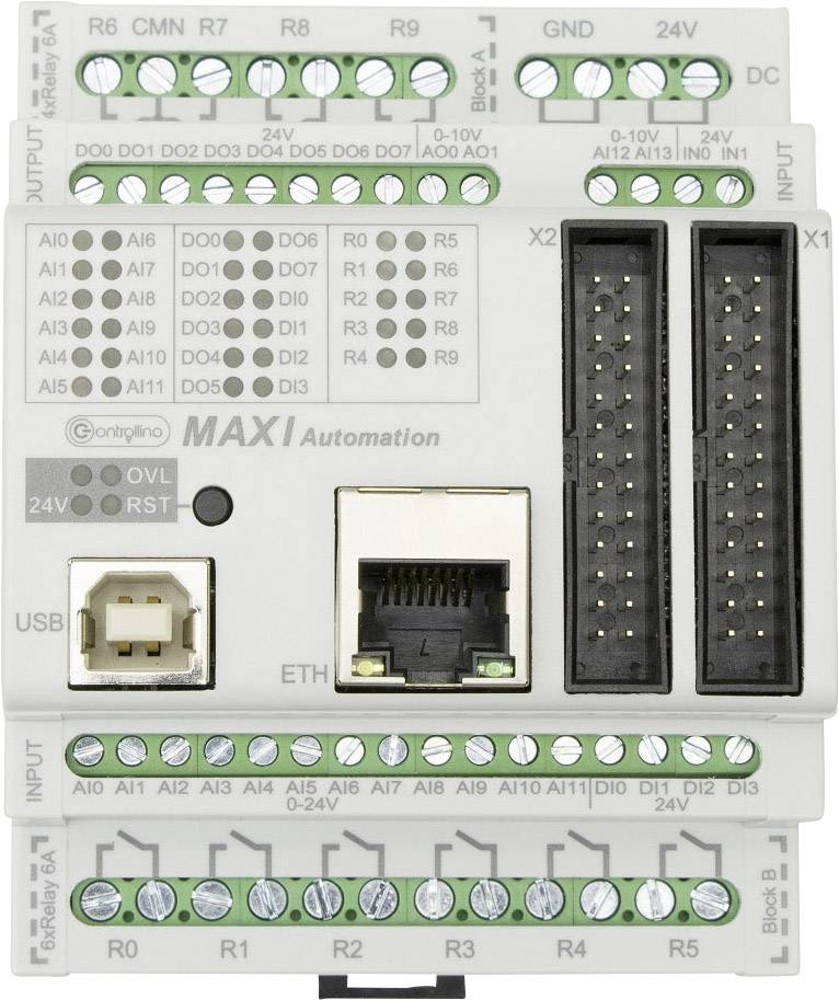 PLC řídicí modul Controllino MAXI Automation 100-101-00,