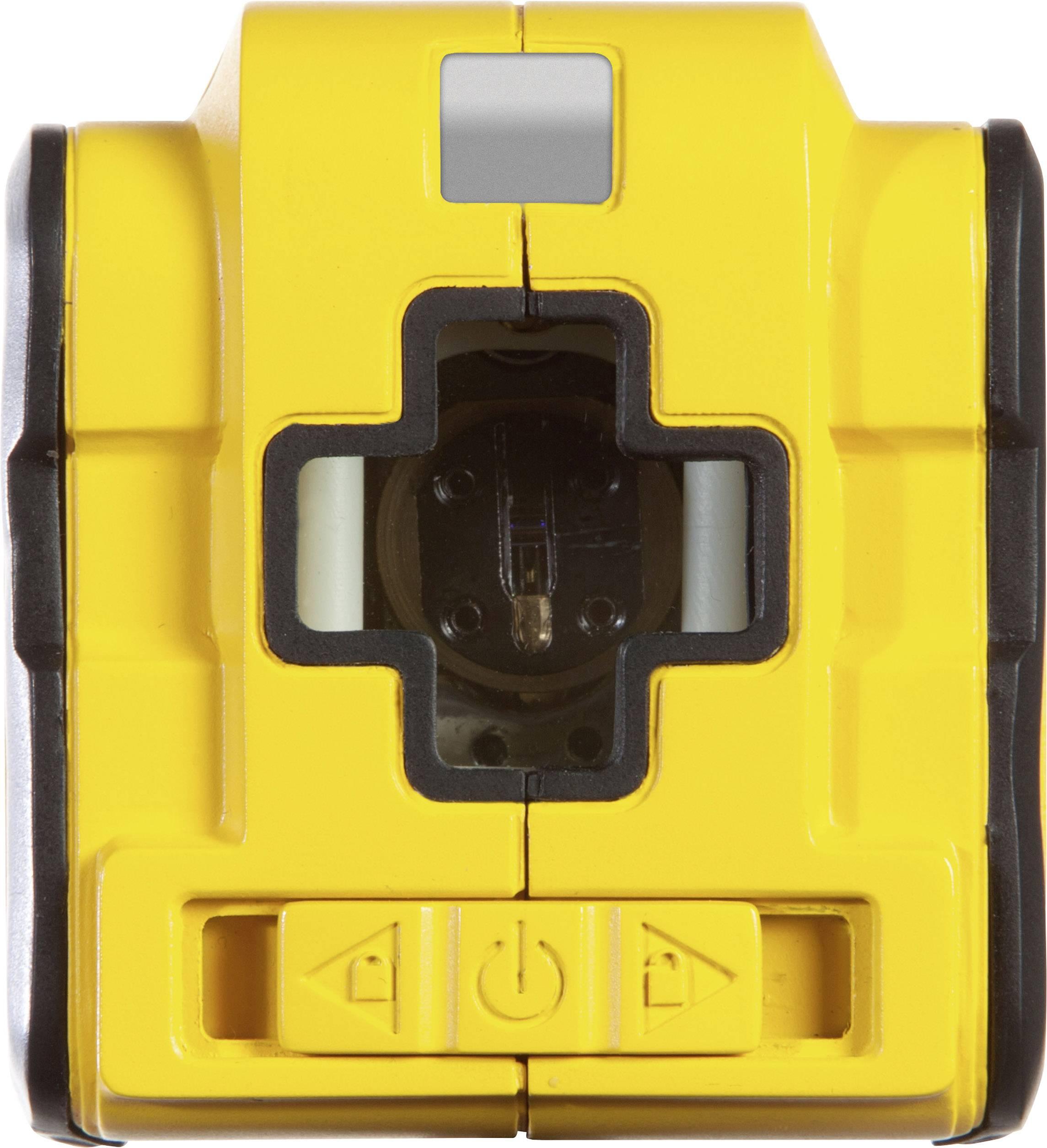 Křížová laserová vodováha samonivelační Stanley by Black & Decker Cubix, dosah (max.): 8 m, Kalibrováno dle: vlastní