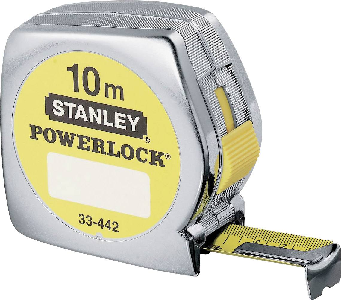 Svinovací metr 10 m Stanley by Black & Decker Powerlock 1-33-442