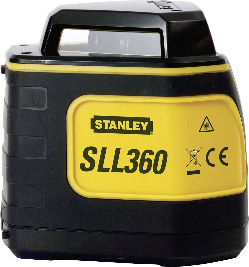 Křížová laserová vodováha Stanley by Black & Decker SLL, Kalibrováno dle: bez certifikátu