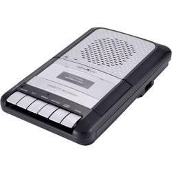 Přenosný přehrávač kazet Walkman Reflexion CCR8010, funkce nahrávání, černá, šedá