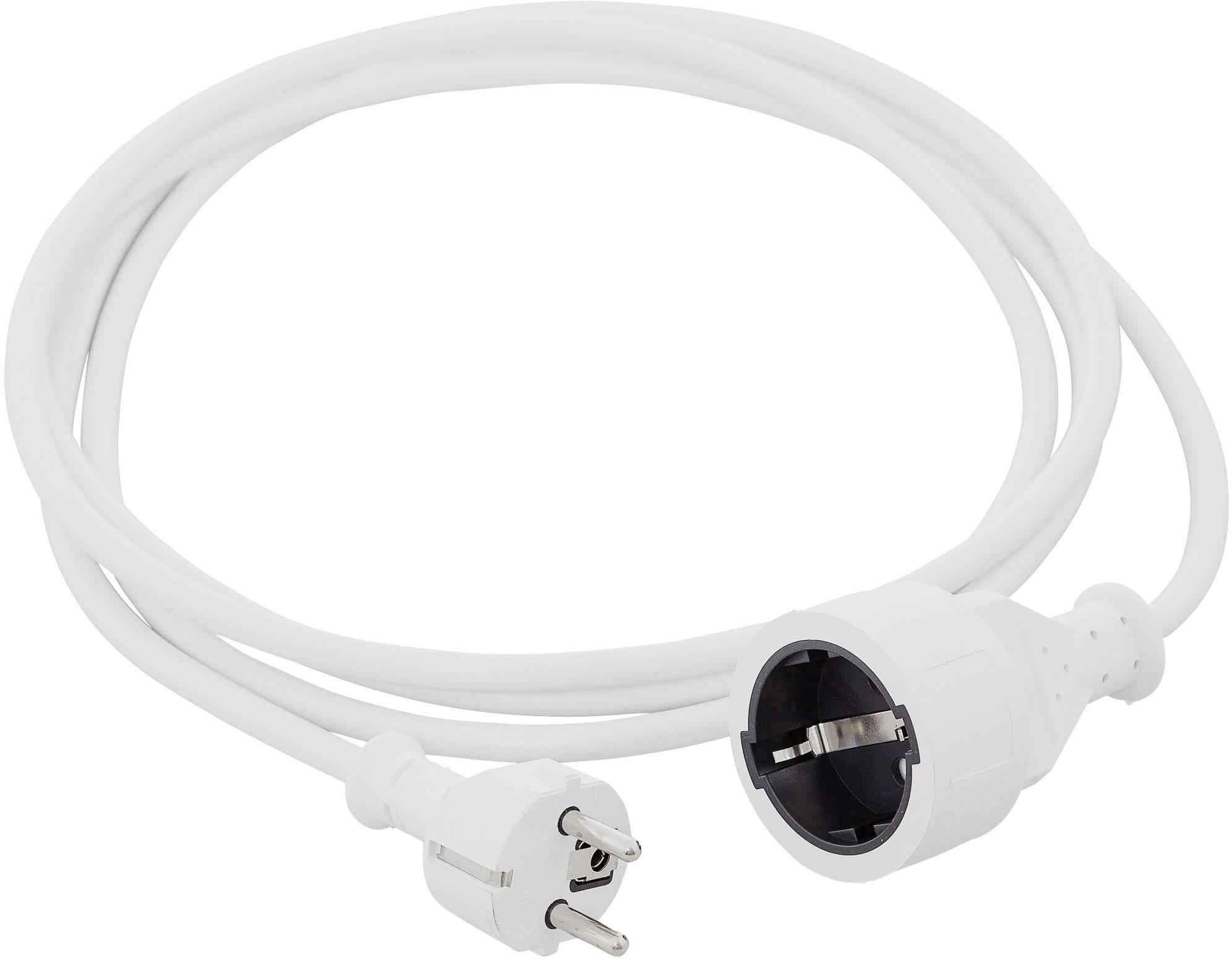 Napájecí prodlužovací kabel HAWA R6353 1008290, bílá, 3 m