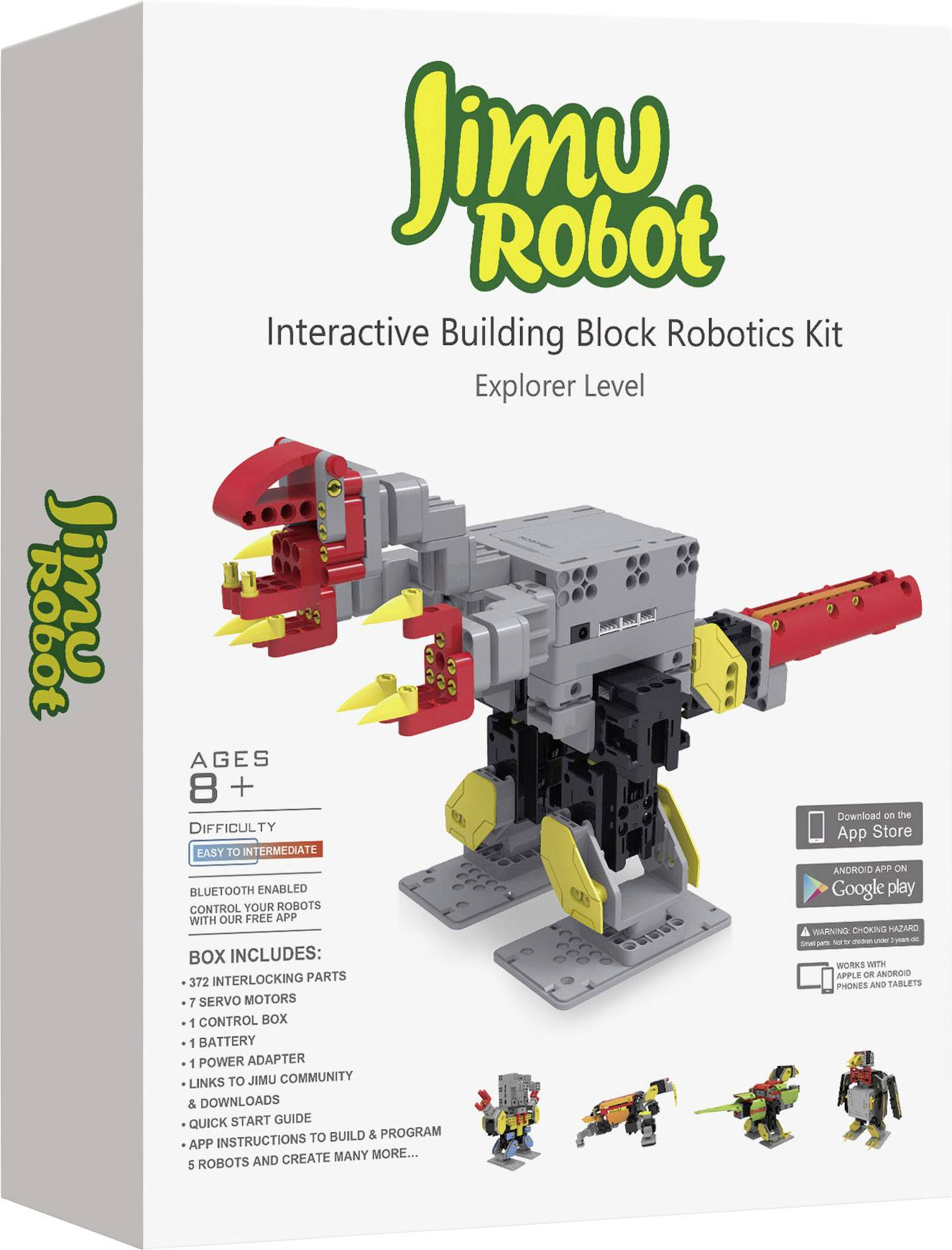 Stavebnica robota Ubtech Jimu Robot Explorer Kit 80538