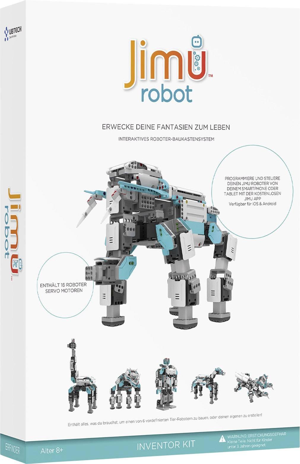 Stavebnica robota Ubtech Jimu Robot Inventor Kit 80548