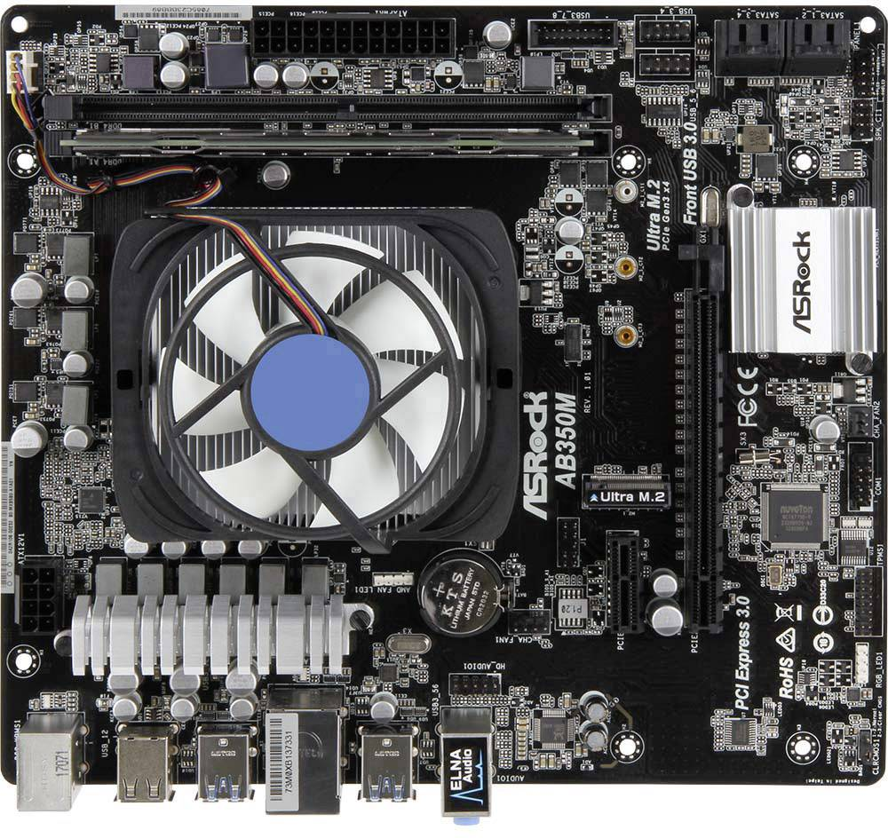 PC Tuning-Kit (Media) Renkforce s procesorem AMD Ryzen 3 1200 (4 x 3.1 GHz), 8 GB RAM,