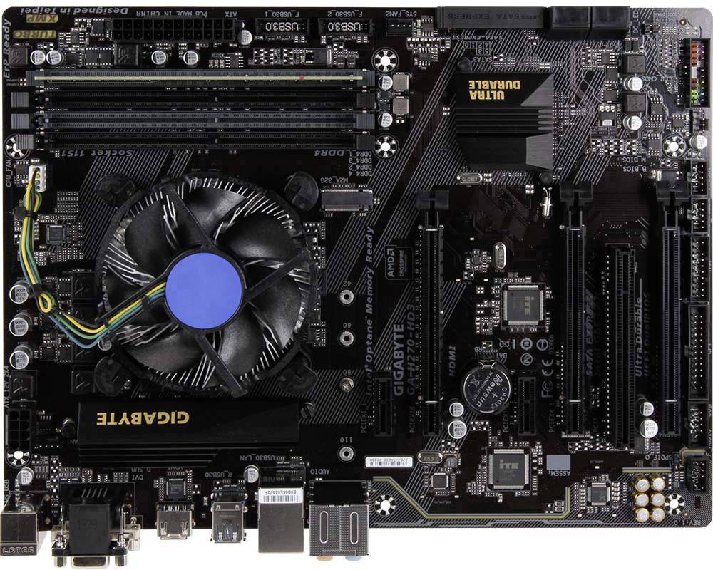 PC Tuning-Kit (Media) Renkforce s procesorem Intel Core i5 i5-7500 (4 x 3.4 GHz), 8 GB RAM, Intel HD Graphics 630