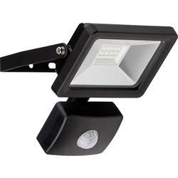 Venkovní LED reflektor s PIR detektorem Goobay 58998, 10 W, denní světlo, černá