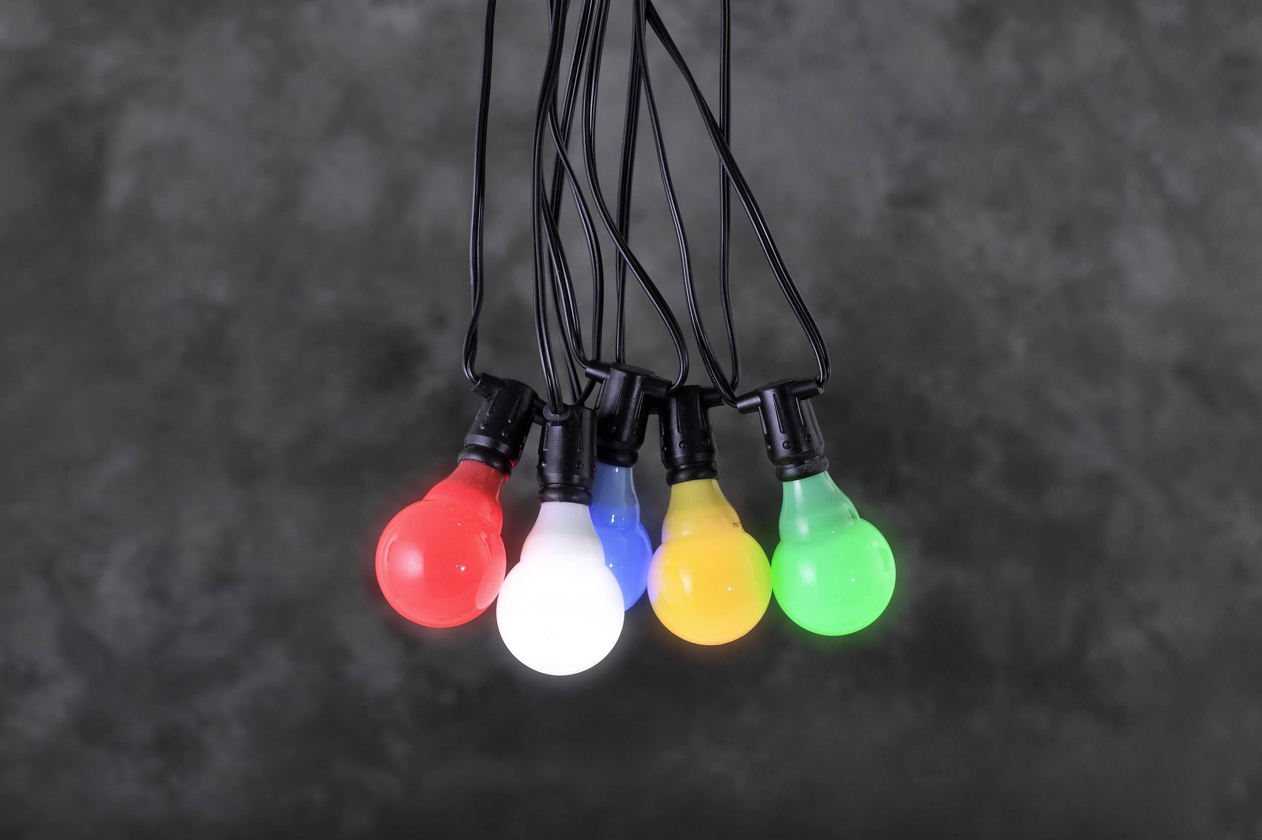 LED, žárovka rozšíření systému světelných řetězů 24 V světelný řetez barevná Konstsmide